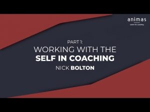 WorkingwiththeSelfinCoaching(Part)