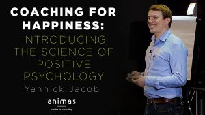 Coaching for Happiness Yannick Jacob Lecture