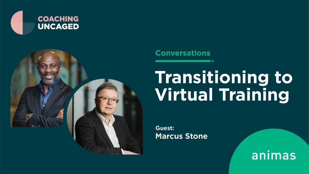 transitioning to virtual training marcus stone