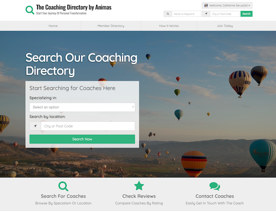 The Coaching Directory by Animas