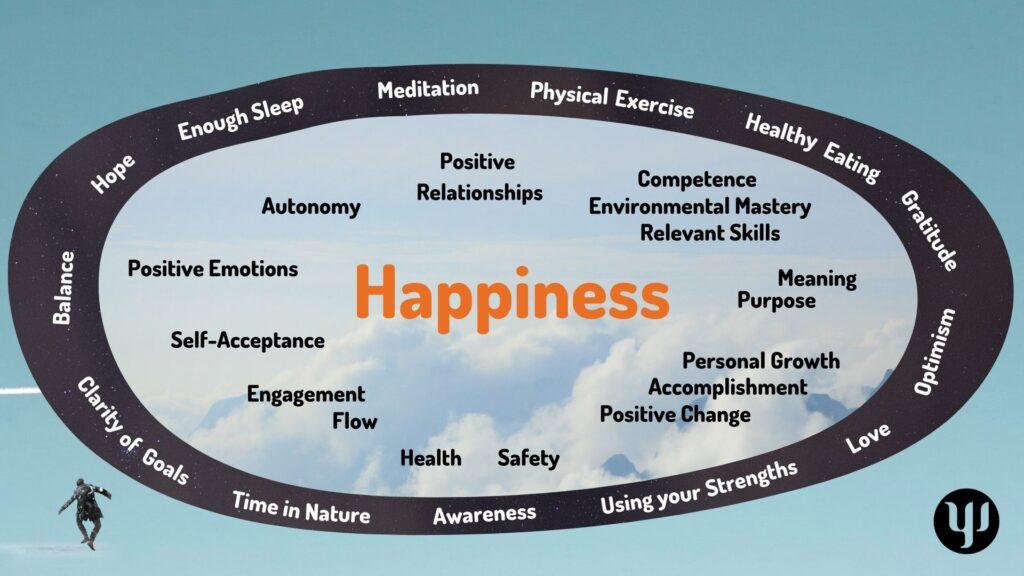 Yannicks Integrative Model of Wellbeing