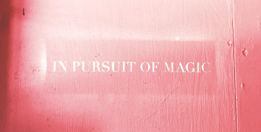 in pursuit of magic sign